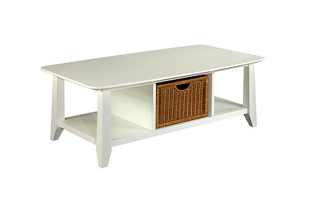 Owen Landing Coffee Table (White Finish)
