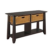 Owen Landing Sofa Table (Black)