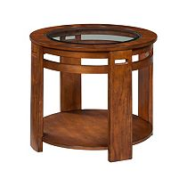 Nelliston Round Lamp Table