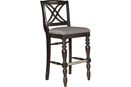 Mirren Pointe X-Back Bar Stool