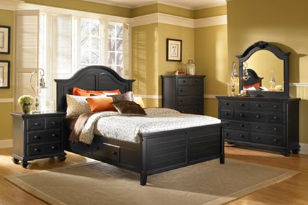Mirren Pointe Arched Panel Storage Bed