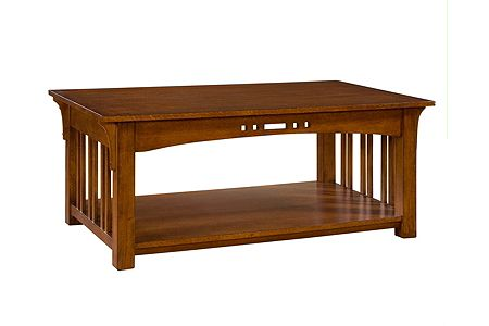 Artisan Ridge Rectangular Cocktail Table