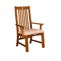 Artisan Ridge Slat-Back Arm Chair