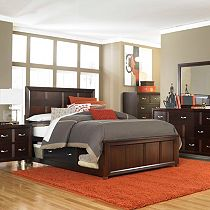 Eastlake 2 Panel Storage Bed