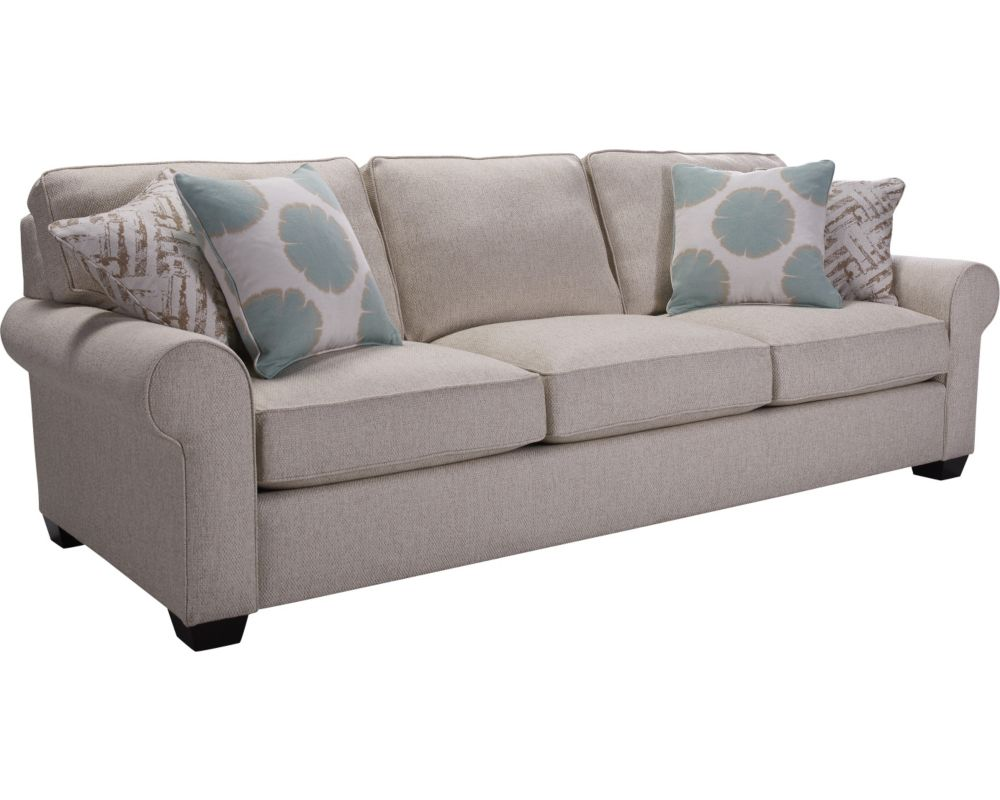 Isadore sofa sleeper queen broyhill broyhill furniture for Broyhill furniture