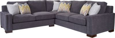 Rocco Right Arm Facing Corner Sofa from the Rocco collection by Broyhill Furniture