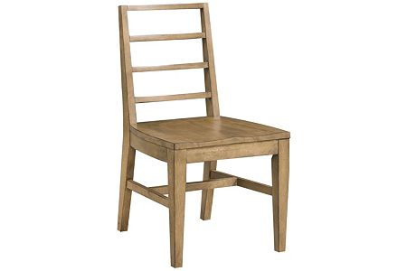 Ember Grove Wood Seat Slat-Back Side Chair