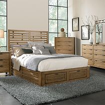 Ember Grove Panel Storage Bed