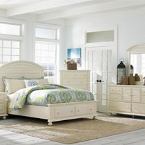 Seabrooke Storage Panel Bed