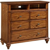 Hayden Place - Oak,      Media Chest