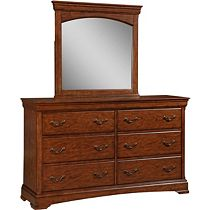 Rhone Manor Media Drawer Dresser