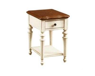 Creswell Chairside Table 2 Tone From The Creswell
