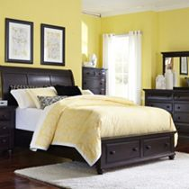 Farnsworth Sleigh Storage Bed