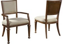 Creswell Upholstered Seat Side Chair From The Creswell