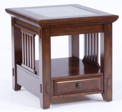 Rectangular End Table From Vantana At Broyhillfurniture Com