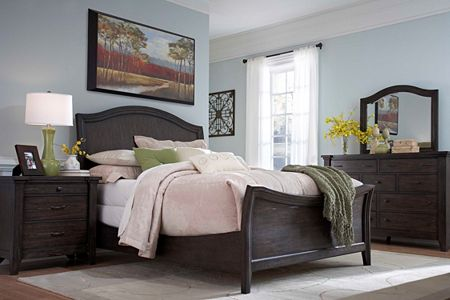 Attic Retreat Sleigh Bed