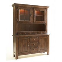 Attic Heirlooms China Base and Door Hutch