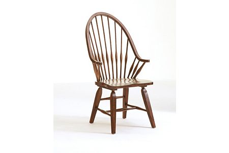 Attic Heirlooms Windsor Arm Chair