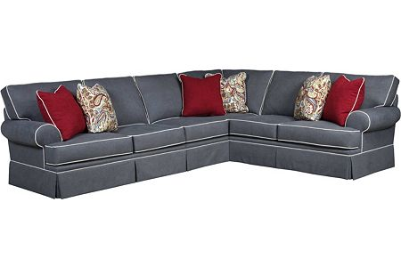 Emily Sectional From The Emily Collection By Broyhill Furniture - Broyhill emily sofa