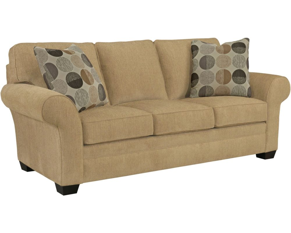 Zachary sofa broyhill for Broyhill chaise lounge cushions
