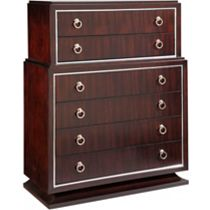 Pinstripe Drawer Chest