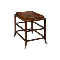 Antiquity Castered End Table