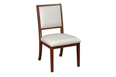 Antiquity Upholstered-Seat-and-Back Side Chair