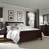 Antiquity Sleigh Bed