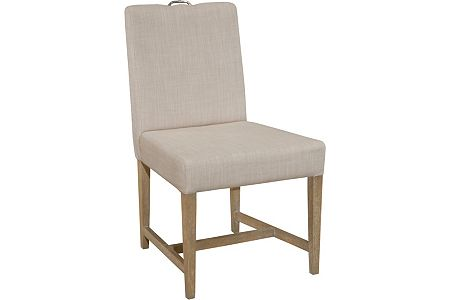 Hampton Upholstered-Seat-and-Back Armless Side Chair