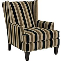Lauren Chair (Chrome Nailhead Trim)