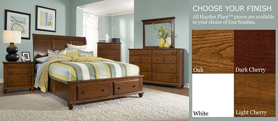 Hayden place bedroom at - Broyhill hayden place bedroom set ...