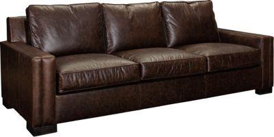 Rocco Leather Sofa Sleeper, Queen