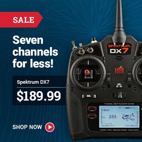 SPM7000 Spektrum DX7 Gen-2 DSMX Transmitter