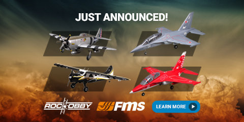 New Releases from FMS and RocHobby