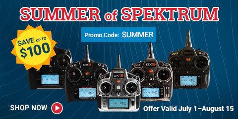 Summer of Spektrum Transmitter Sale