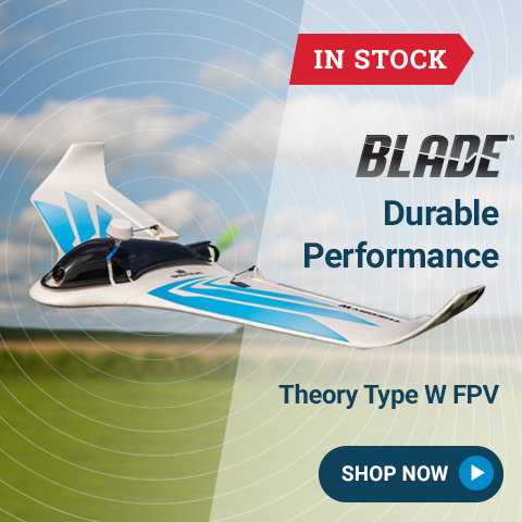 BLH03050/55 Blade Theory Type W FPV Race Wing