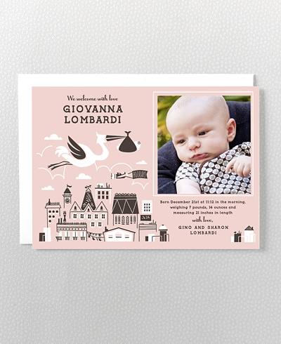 Bundle of Joy Birth Announcement