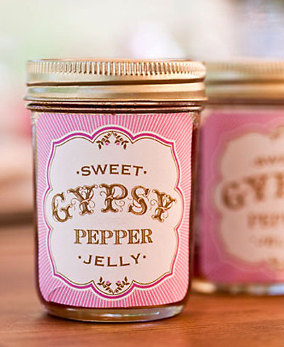Jelly Label---DIY Instructions and Template