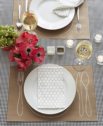 Silk-Screen Place Mat---DIY Instructions & Template