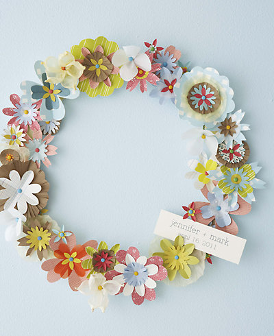 Spring Wreath---DIY Instructions and Template