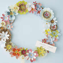 Spring Wreath: DIY Instructions and Template