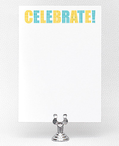 Typeface Celebrate! Printable Invitation