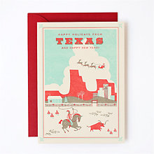 Happy Holidays from Texas - Set of 6: HL-877s