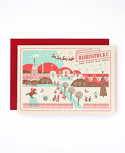 Happy Holidays from Washington, D.C. - Set of 6