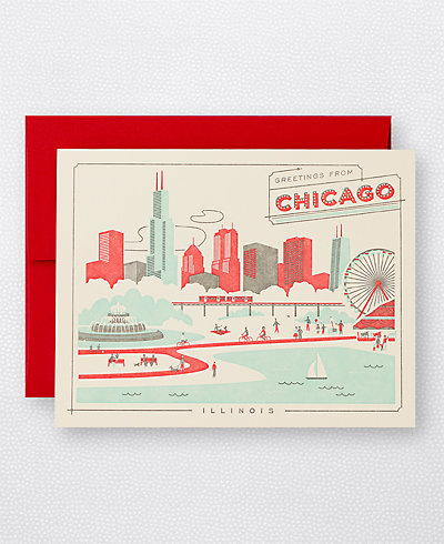 Visit Chicago - Set of 6