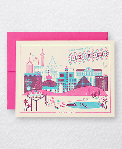 Visit Las Vegas - Set of 6