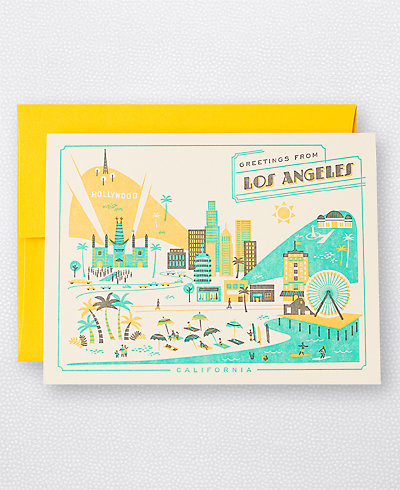 Visit Los Angeles - Set of 6