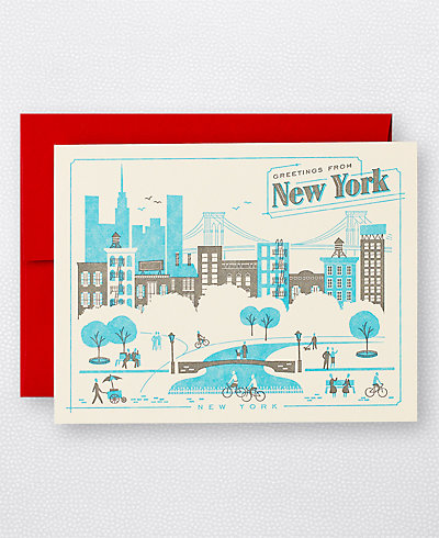 Visit New York - Set of 6