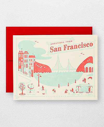 Visit San Francisco - Set of 6