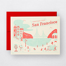 Visit San Francisco - Set of 6: HL-791s